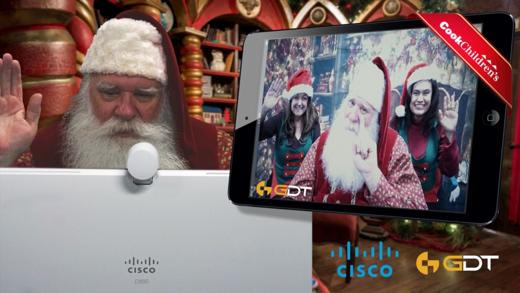 Santa is bringing the cheer with Cisco Technology