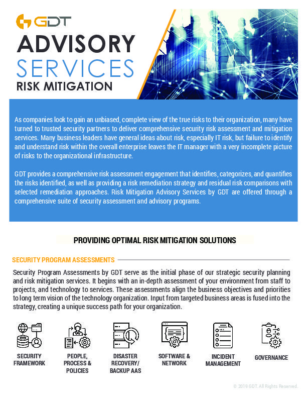 GDT Advisory Services Risk Mitigation-thumbnail